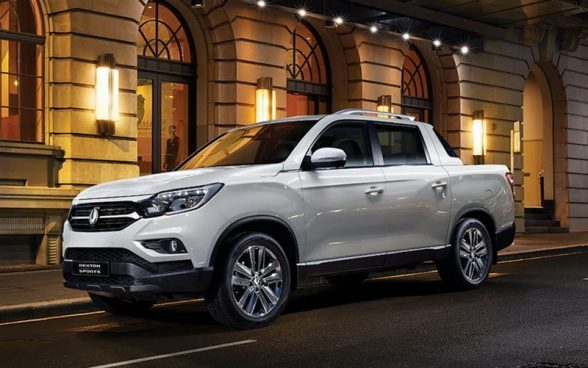 SSANGYONG PICK-UP MUSSO